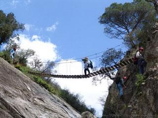 Gorge-de-Salenys-Rope-Bridg