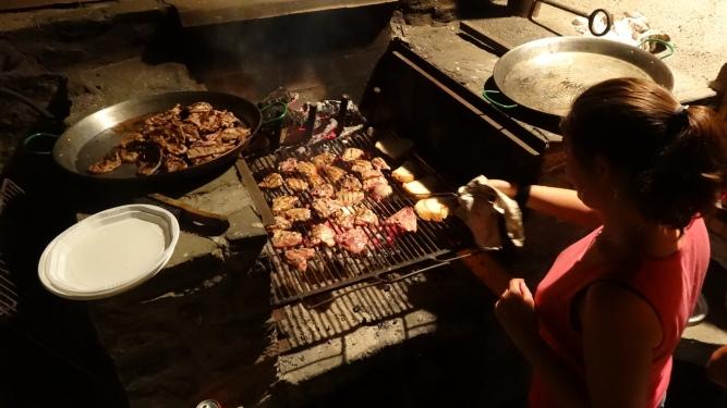 BBQ nocturna