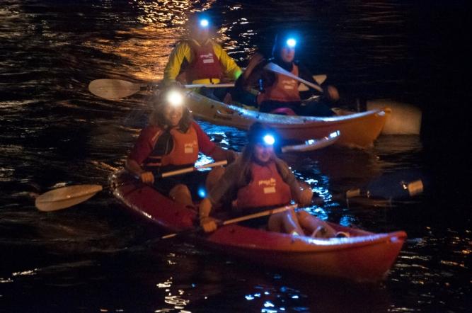 Kayak-nocturno